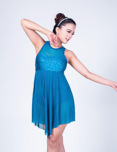 Ballet Dance Dancewear Adults' Children's Sequin Lyrical Dress Kids Dance Costumes