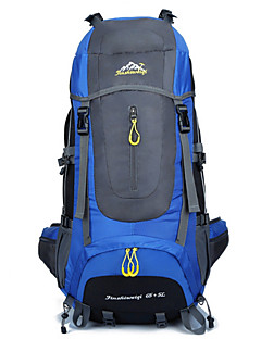 70 L Ryggsekk Pakker Laptop Pack Ryggseker til dagsturer Reise Duffel Bag Reiseorganisator ryggsekk RyggsekkCamping & Fjellvandring