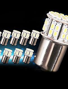 10 x nouveaux blancs 1156 RV roulotte 50 LED SMD 1141 1003 ampoules intérieures