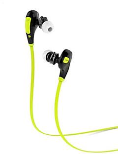 qy7 sportovní oblečení Bluetooth 4.1 stereo sluchátka v uchu s mikrofonem pro chytré telefony