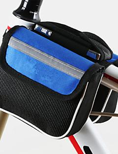 Cyklistická taška 2LBrašna na rám Odolné vůči prachu / Protiskluzový povrch / Odolné vůči šokům / Nositelný Taška na koloPolyester /