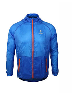 Cycling Jacket Men's Long Sleeve Bike Breathable / Quick Dry / Windproof Windbreakers / Jacket / Tops 100% Polyester SolidSpring / Summer