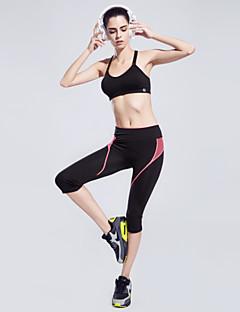 Mulheres Corrida Shorts Calças Respirável Secagem Rápida Materiais Leves Tecido Ultra LeveIoga Exercício e Atividade Física Corridas