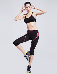 Femme Course / Running Cuissard  / Short Pantalon/Surpantalon Bas Respirable Séchage rapide Matériaux Légers Tissu Ultra LégerYoga
