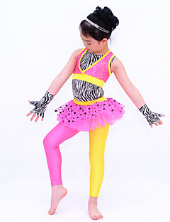 Children Dance Dancewear Children Girls Jazz Dance Outfits