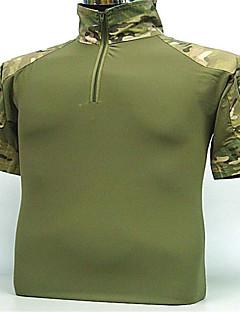 menns skjorte jakt klær camping&tur / fiske / / fukttransporterende / pustende / bærbar