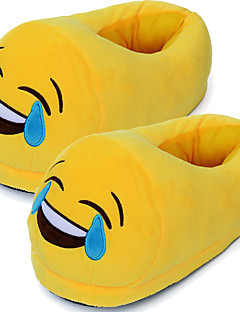 3D Emoji Plush Stuffed Unisex Slippers Cartoon Winter Home Indoor Shoes Slipper