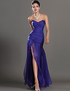 Formal Evening Dress-Regency Sheath/Column Sweetheart Ankle-length Chiffon