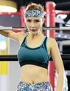 Mulheres Sem Mangas Corrida Sutiã Esportivo Respirável Secagem Rápida Vestível Materiais Leves Redutor de SuorPrimavera Verão Outono