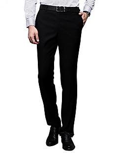 Sieben Brand® Herren Anzug Hose Schwarz-703B762388