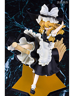 Touhou Project Marisa Kirisame PVC 25cm Anime Actionfigurer Modell Leksaker doll Toy