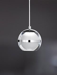 5W Pendelleuchten ,  Zeitgenössisch Chrom Feature for LED Metall Wohnzimmer / Schlafzimmer / Esszimmer / Studierzimmer/Büro