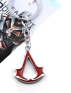 Korut Innoittamana Assassin's Creed Cosplay Anime/Video Pelit Cosplay-Tarvikkeet kaulakoru Musta / Punainen / Sininen MetalliseosUros /