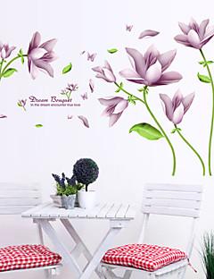 Romantik Mode Blumen Wand-Sticker Flugzeug-Wand Sticker Dekorative Wand Sticker,# Stoff Abziehbar Haus Dekoration Wandtattoo