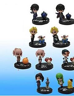 Code Gease PVC 5cm Anime Action Figures Model Toys Doll Toy 1 Set