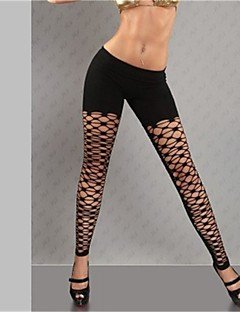 Women Shredded Legging,Polyester Medium