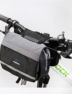 Bolsa para Guidão de Bicicleta / Bolsa de Ombro / Bolsa de CiclismoZíper á Prova-de-Água / Á Prova de Humidade / Camurça de Vaca á