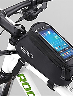 ROSWHEEL® Bike Bag 1.5LBike Frame Bag Waterproof Zipper Moistureproof Shockproof Wearable Bicycle Bag PVC Mesh Terylene Cycle BagSamsung