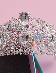 Women's Rhinestone / Crystal / Alloy Headpiece-Wedding / Special Occasion / Casual / Outdoor Tiaras 1 Piece