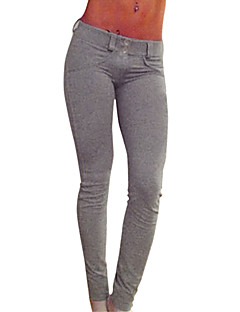 Sexy / Feest / Casual-Polyester-Micro-elastisch-Skinny-Broek-Vrouwen