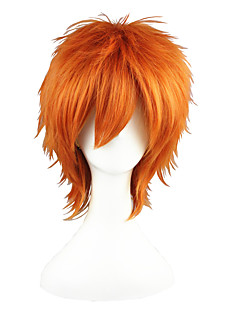 Cosplay Parykker Prince of Tennis Kid the Phantom Thief Orange Kort Anime Cosplay Parykker 35 CM Varmeresistent Fiber Mand / Kvindelig