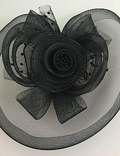 Mulheres Tule / Rede Capacete-Casamento / Ocasião Especial Fascinador 1 Peça