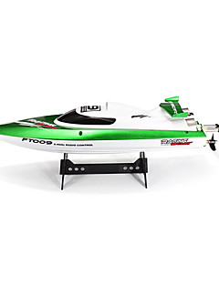 Speedboat Fei lun FT009 Racing RC Boat Brush Electric 4CH 2.4G 30km/h Green