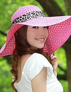 Summer Hollow Ribbon Bow Lady Straw Beach Sun Hat