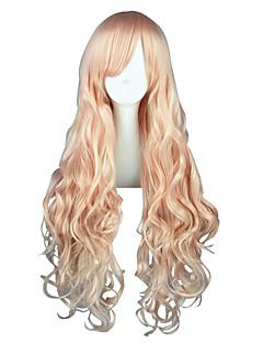 Perruques de Cosplay Macross Frontier Sheryl Nome Rose Long Anime Perruques de Cosplay 80 CM Fibre résistante à la chaleurMasculin /
