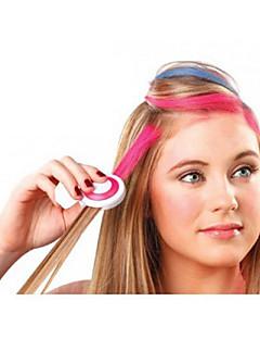 4 színben ideiglenes haj kréta DIY hajformázó egyszerű színek könnyen mosható