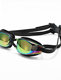 No плавательные очки Универсальные Регулируемый размер / Фиксирующий шнурок Полиуретан Поликарбонат черный черный