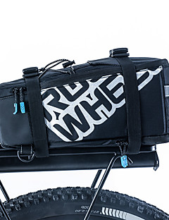 自転車用バッグ 5L自転車用リアバッグ/自転車用サイドバッグ ショルダーバッグ 自転車用リアバッグ 防水 耐衝撃性 耐久性 自転車用バッグ PUレザー 400D ナイロン サイクリングバッグ