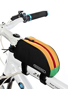ROSWHEEL® Bike Bag 1LBike Frame Bag Waterproof Zipper / Wearable / Moistureproof / Shockproof Bicycle Bag PVC / 600D Polyester Cycle Bag