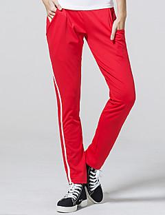 calças de yoga Calças Respirável Natural Com Elástico Moda Esportiva Vermelho Preto MulheresIoga Acampar e Caminhar Boxe Pesca Alpinismo