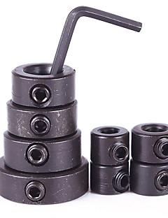 8stk Trearbeid Boret Dybde Stoppkrager Ring Po Sitioner Locator Portable Hot Positioner Drill Locator