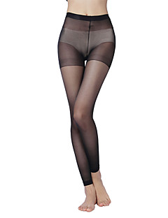 Women's  15D one plus nine pantyhose crotch core wire(3 pieces)