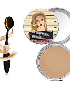 1pcs nova bronzer Manizer maquiagem tb Mary-lou&highlighter cosméticos + 1pcs masterclass fundação oval pincel de maquiagem