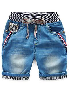 Menino de Jeans Verão Outros Listrado Menino de