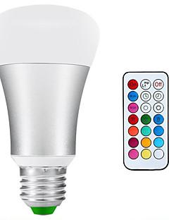 10W E26/E27 LED-pallolamput A80 1 COB 900lm-1200lm lm Neutraali valkoinen / RGB Himmennettävä / Koristeltu / Vedenkestävä AC 85-265 V1