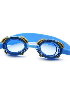 No плавательные очки Детские Регулируемый размер / Фиксирующий шнурок Полиуретан Поликарбонат синий синий