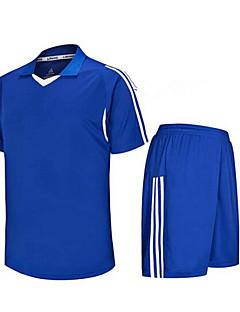 Herre Fodbold Shirt + Shorts Tøjsæt/Jakkesæt Åndbart Hurtigtørrende Forår Sommer Efterår Vinter Klassisk TeryleneTræning & Fitness