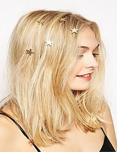 נשים סגסוגת כיסוי ראש-אירוע מיוחד קז'ואל חוץ כומתה סיכת שיער כלי לשיער 6 חלקים