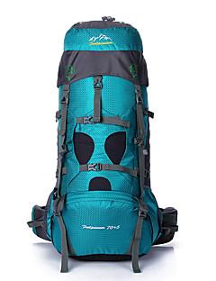 75 L Batohy Travel Organizer batoh Outdoor a turistika cestování Multifunkční Nylon