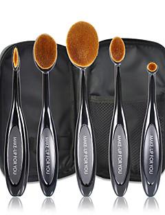 5 Set di pennelli Capelli sintetici Professionale / Viaggi / sintetico Plastic Viso / Occhi / Labbro MAKE-UP FOR YOU