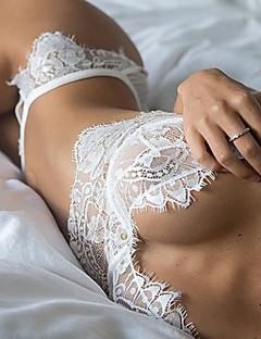 Vrouw Kanten lingerie Nachtkleding Sexy / Kant Kant Wit / Zwart Vrouwen