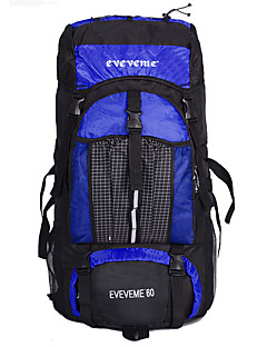 60 L Laptop Pakker / Rygsække til dagture / Travel Organizer / rygsæk / Rygsæk Campering & Vandring / Klatring / Cykling UdendørsVandtæt
