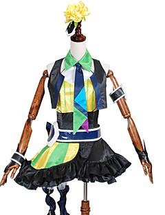 קיבל השראה מ Macross Frontier אחרים אנימה תחפושות Cosplay חליפות קוספליי / שמלות טלאיםוסט / Leotard / אביזר לשיער / Collar / קשר /
