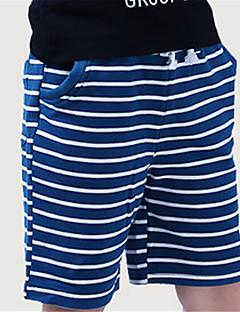 Boy's Cotton Shorts,Summer Striped