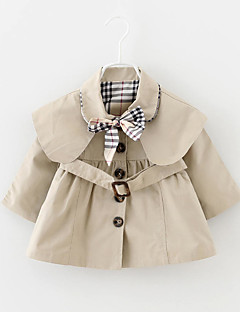 Girl's Casual/Daily Solid Suit & Blazer,Nylon Spring / Fall Red / Beige