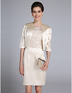 Women's Wrap Shrugs Satin Wedding / Party/Evening